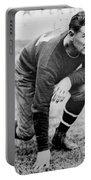 Football Player Jim Thorpe Portable Battery Charger