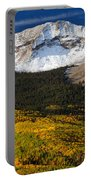 Foothills Of Gold Portable Battery Charger by Darren  White