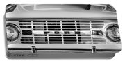 Ford Bronco Grille Emblem -0014bw Portable Battery Charger
