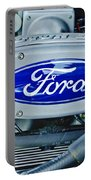 Ford Engine Emblem Portable Battery Charger
