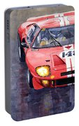 Ford Gt 40 24 Le Mans  Portable Battery Charger