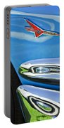 Ford Thunderbird Emblem -0505c Portable Battery Charger