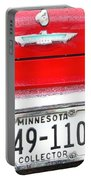 Ford With Minnesota Licence Plate Portable Battery Charger