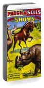 Forepaugh And Sells Wondrous Wild Beasts Portable Battery Charger