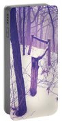 Forest Fence Portable Battery Charger