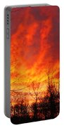Forest Fire Portable Battery Charger