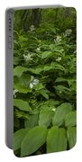 Forest Flowers Portable Battery Charger