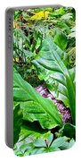 Forest Foliage Portable Battery Charger