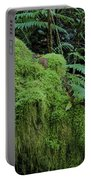 Forest Greenery Portable Battery Charger