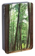 Forest In Early Morning, Wetlands Portable Battery Charger