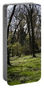 Forest In Spring Portable Battery Charger