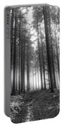 Forest In The Mist Portable Battery Charger
