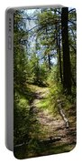 Forest Path In Spokane 2014 Portable Battery Charger