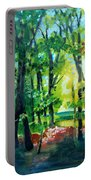 Forest Scene 1 Portable Battery Charger