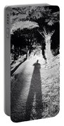 Forest Shadow Portable Battery Charger by Les Cunliffe