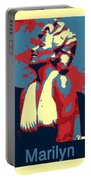 Forever Marilyn Poster Portable Battery Charger