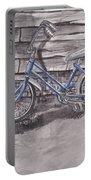 Forgotten Banana Seat Bike Portable Battery Charger