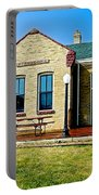 Former Rock Island Line Railroad Depot In Pipestone-minnesota Portable Battery Charger