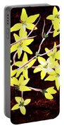 Forsythia Branches Portable Battery Charger