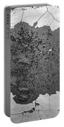 Fort Gratiot Light House Wall Texture Portable Battery Charger