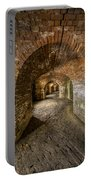 Fort Macomb Arches Vertical Portable Battery Charger by David Morefield