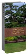 Fort Monroe Main Gate Portable Battery Charger