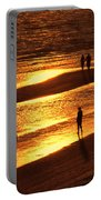 Fort Myers Beach Sunset  Portable Battery Charger