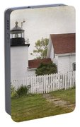 Fort Point Lighthouse Portable Battery Charger