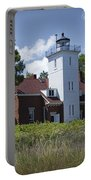 Forty Mile Point Lighthouse In Michigan Number 450 Portable Battery Charger