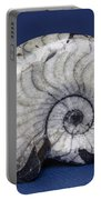 Fossilized Ammonite Portable Battery Charger