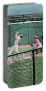 Foul Ball 3 Panel Composite Portable Battery Charger