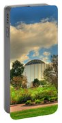 Founders Hall From The Garden Portable Battery Charger