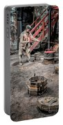 Foundry Worker Portable Battery Charger