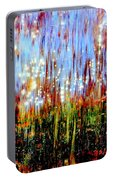 Water Fountain Abstract 3 Portable Battery Charger