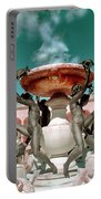 Fountain Of The Tortoises Ringling Museum Sarasota Portable Battery Charger