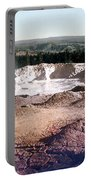Fountain Paint Pot Yellowstone National Park Portable Battery Charger