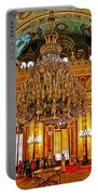 Four And One-half Ton Crystal Chandelier In Ceremonial Hall In Dolmabache Palace In Istanbul-turkey  Portable Battery Charger