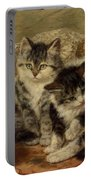 Four Kittens Portable Battery Charger