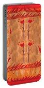 Four Of Wands Portable Battery Charger