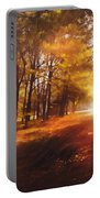 Four Seasons Autumn Impressions At Dawn Portable Battery Charger