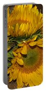 Four Sunflowers Portable Battery Charger