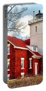 Fourty Mile Point Lighthouse Portable Battery Charger