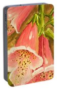 Foxy Foxglove Of Williamsburg Portable Battery Charger