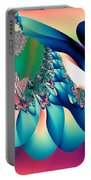 Fractal Abstract 001 Portable Battery Charger