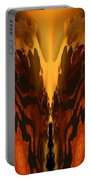Fractal Abstract 15-01 Portable Battery Charger