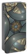 Fractal Art Deco  Portable Battery Charger