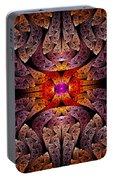 Fractal - Aztec - The Aztecs Portable Battery Charger