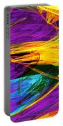 Fractal - Butterfly Wing Closeup Portable Battery Charger