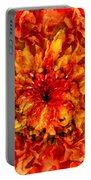 Fractal Chrysanthemum Portable Battery Charger