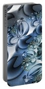 Fractal Dancing The Blues Portable Battery Charger